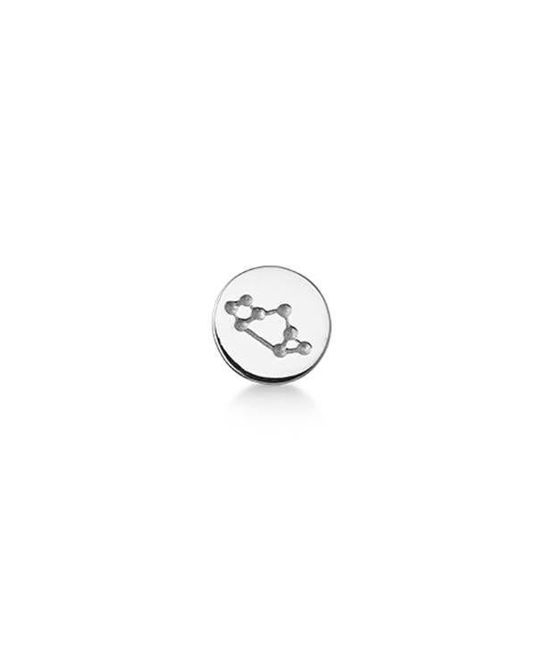 Lille og fin charm fra STORY med stjernebilledet skytten. Charmen er i sølv, men fås desuden i forgyldt sølv. Brug den med dit yndlings STORY armbånd.