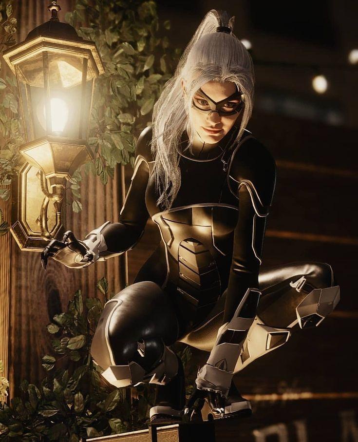 Felicia Black Cat Ps4 Ideas Of Ps4 Ps4 Playstation4 Felicia Black Cat Black Cat Marvel Spiderman Black Cat Black Comics