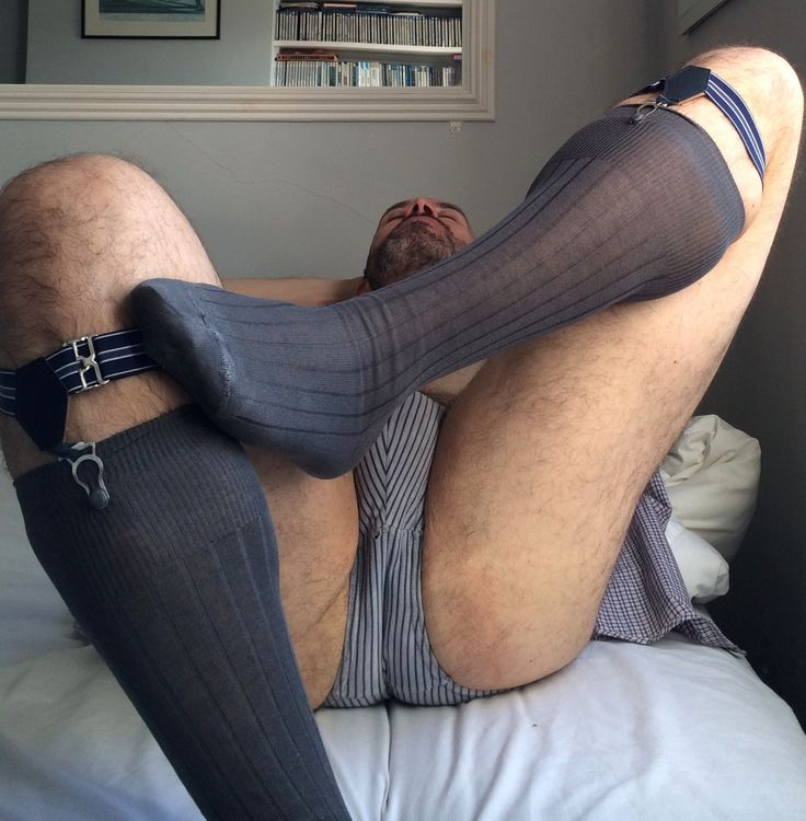 Mens sheer socks fetish young boners