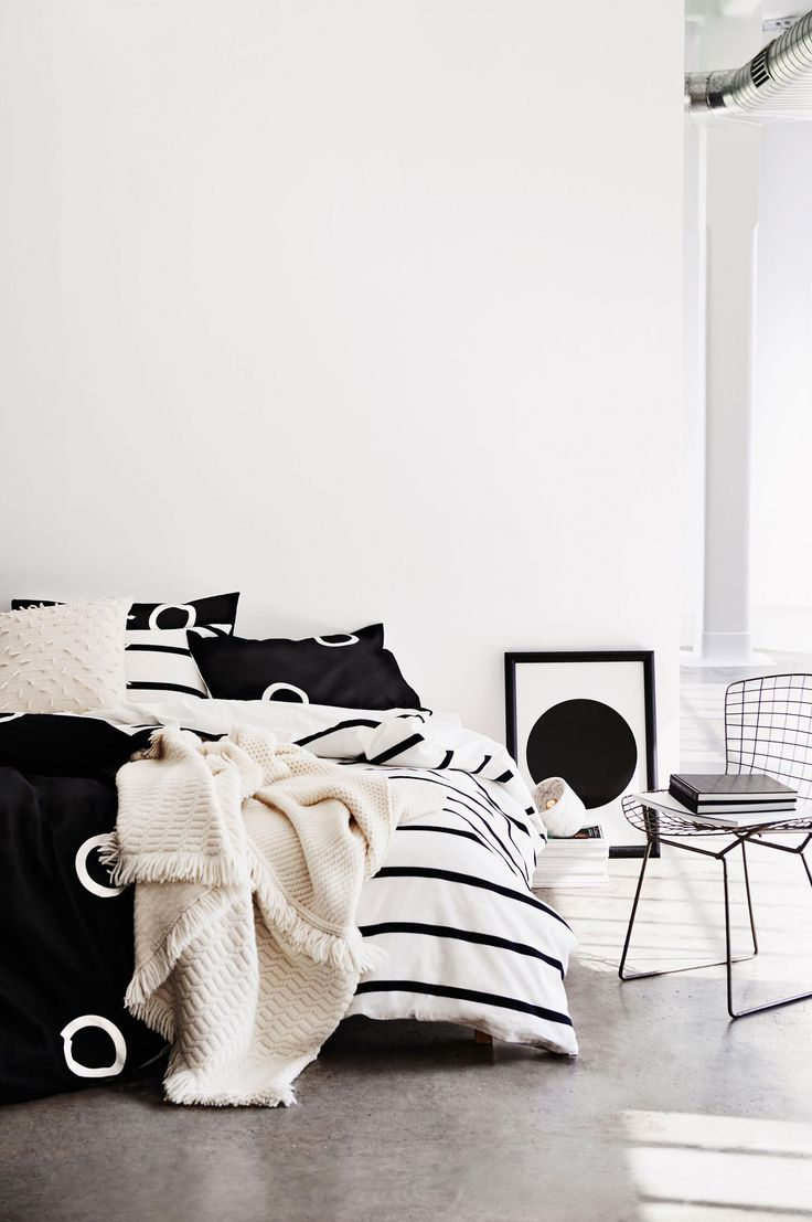 A preview of Country Road's autumn 2016 Home campaign.  #blackandwhite  #monochrome #interiors