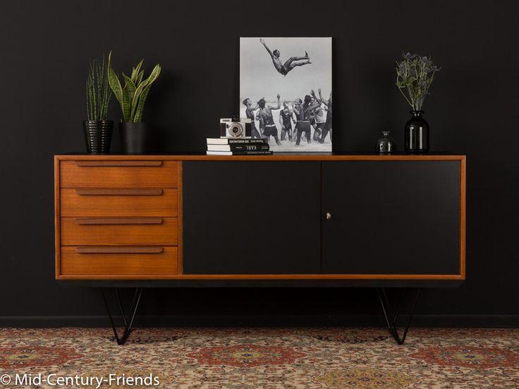 60er Sideboard, Kommode 50er, WK, Vintage. KommodenIdeenSideboardTeakMitte  Des JahrhundertsIdeas