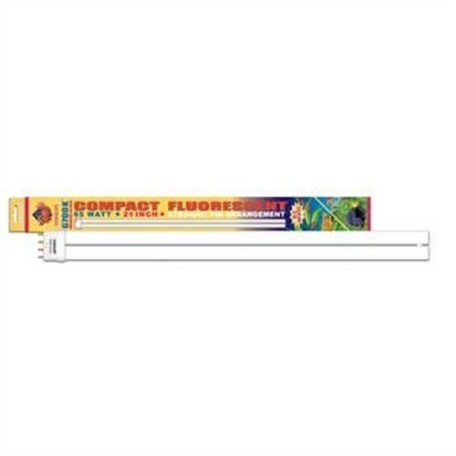 Coralife 05504 6700K Straight Pin Compact Fluorescent Lamp, 65-Watt by Coralife. $31.62. Ideal for freshwater aquariums with live plants. For use with saltwater and coral reef aquariums. High output in the spectrum best for photosynthetic reactions. Casts a natural white glow to simulate the appearance of sunlight. 6,700K colored bulbs provide the best light available from a fluorescent lamp. This lamp replicates sunlight and has high output in the spectrum bes...