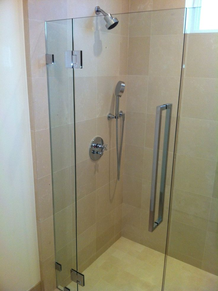 how to decide on glass shower size