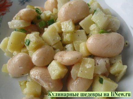 Кулинарные рецепты салаты блюда с фасолью