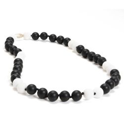 Teething Necklace -  Wav Black