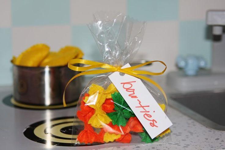 felt bow-tie pasta