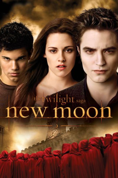After the abrupt departure of Edward (Robert Pattinson), her vampire love, Bella (Kristen Stewart) finds comfort in her deepening friendship with Jacob Black (Taylor Lautner). However Bella's loyalties are put to the test as she becomes drawn into the world of werewolves, ancient enemies of vampires.