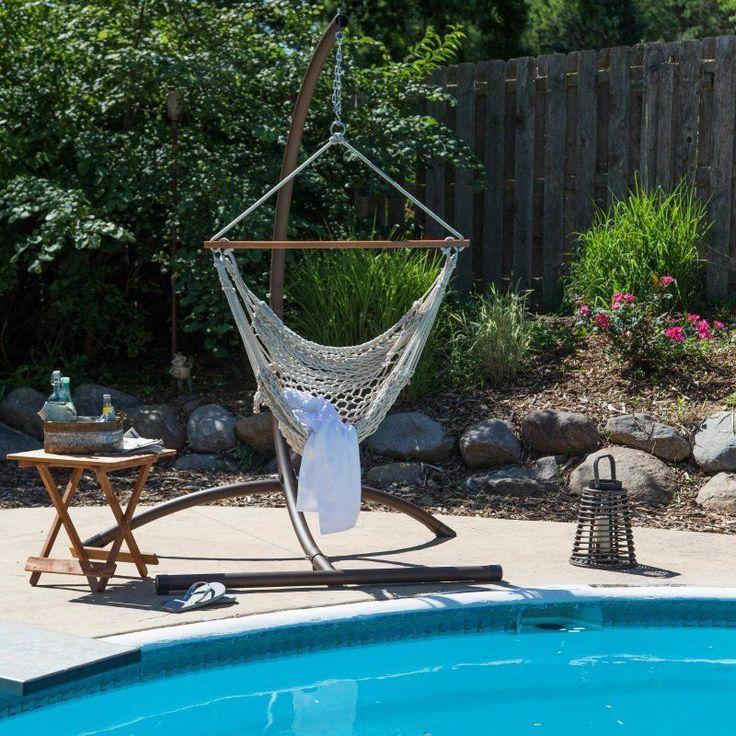 Outdoor Island Bay Rope Hammock Chair Natural - DP008 NATURAL