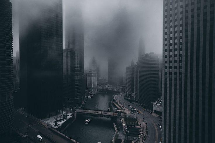 Foggy Chicago #story #inspiration #fog