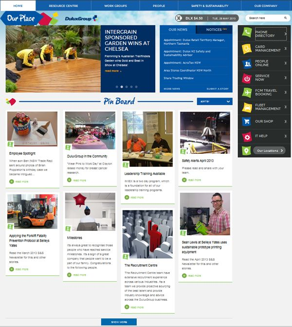 About Intranet On Pinterest Design Fisher And Homepage Design