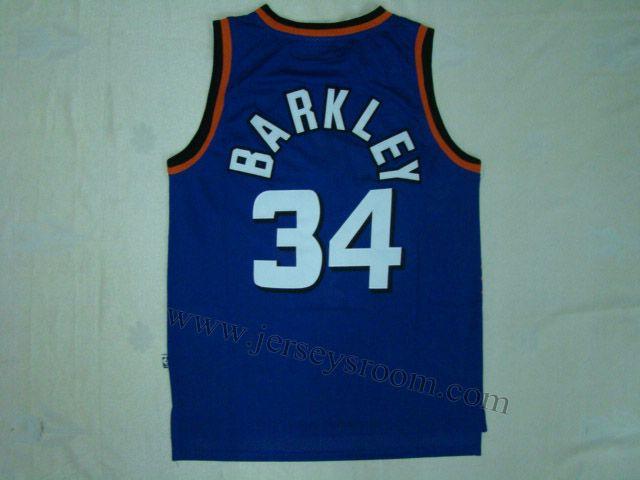 hot sale online 10059 999f8 Phoenix Suns #34 Charles Barkley Purple Hardwood Classic ...