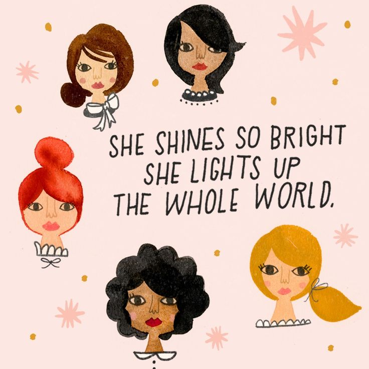 Happy International Women's Day to all the women who shined their lights to pave the way, and all the women shining to brighten the future.