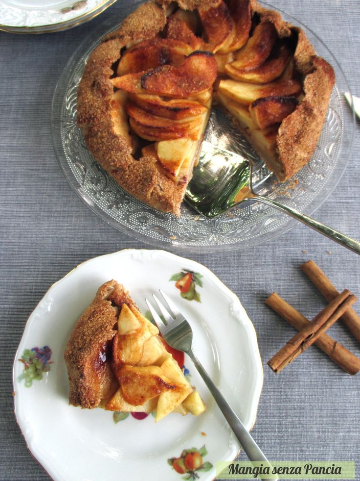 Crostata di mele rustica la galette for Crostata di mele