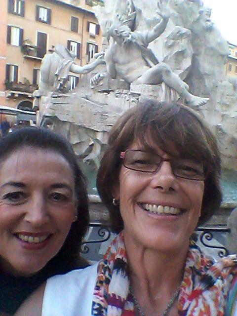 At Bernini's Fountain...St Novela ??