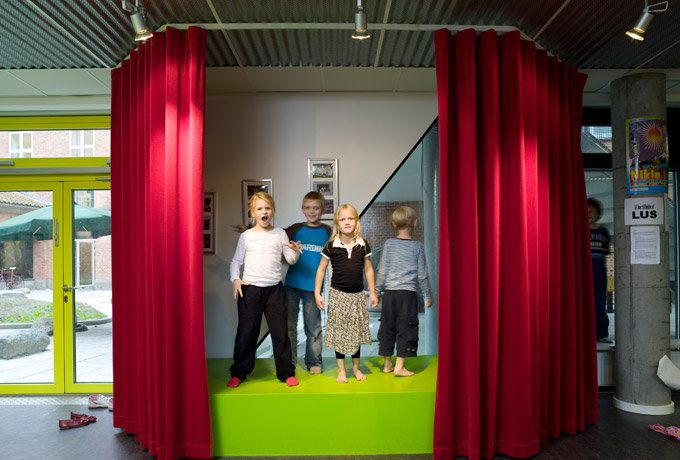 Theater stage / Photo: Anders Sune Berg