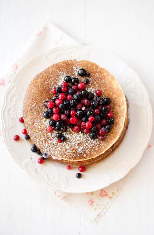 Pancake cake aka the most beautiful thing ever. From Maria of scandifoodie