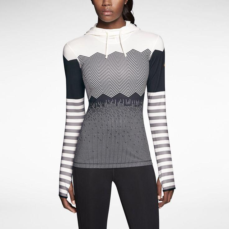Nike Pro Hyperwarm Engineered Print Women's Training Hoodie. Nike Store UK