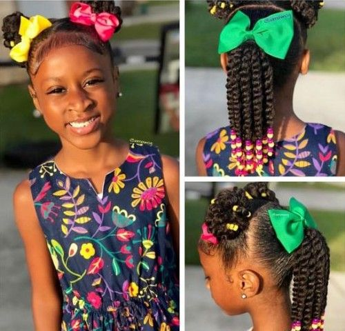 Kids are like heavenly angels to any parents of the world. That's why parents always worry about the hairstyles of their angels. The black parents always try to find the best one for their kids to wear. Most of the time, they search for the beads hairstyles for their kids, as the beads hairstyles suit … Black Kids Hair