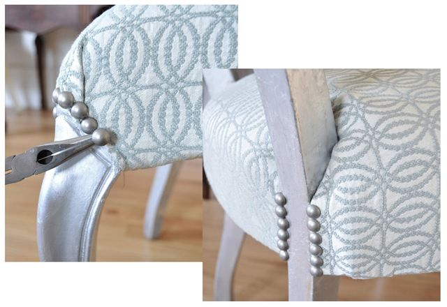 detailed tutorial on how to recover a chair