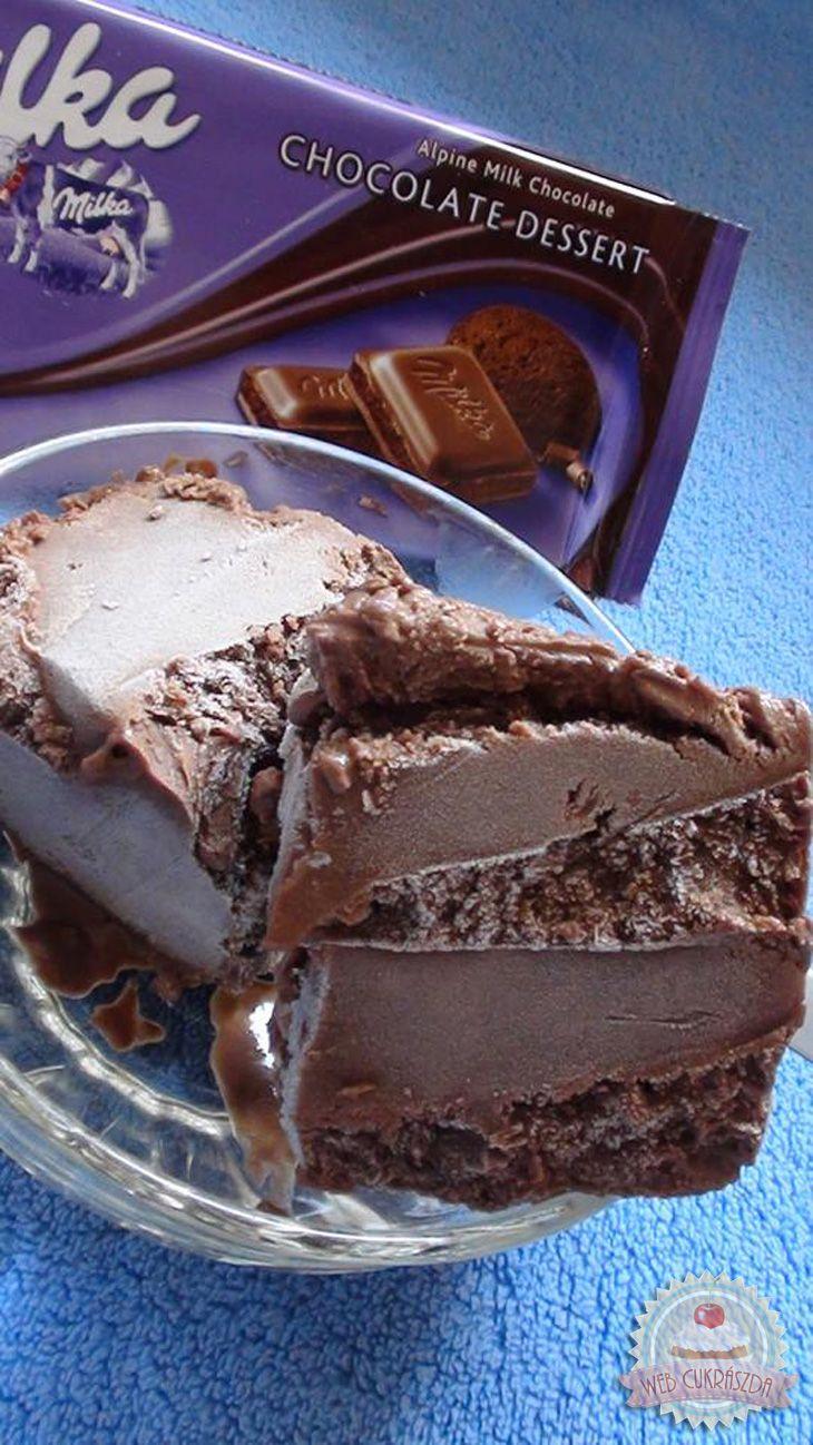 Békebeli csokoládéfagylalt
