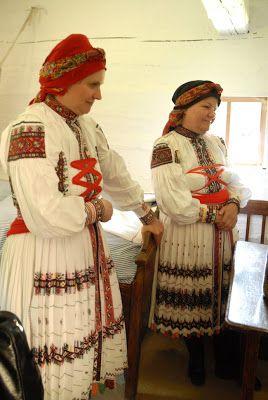 folk dress Czech Republic