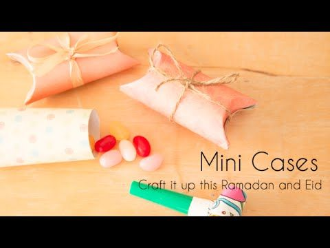 Mini Cases from our craft book. A quick way to make a gift with hidden surprises! I'm sure any child (or adult) would love this!