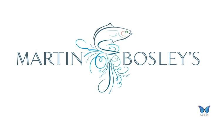 Martin Bosley's Restaurant Logo, New Zealand.   By Luvly Ltd. www.luvly.co.nz