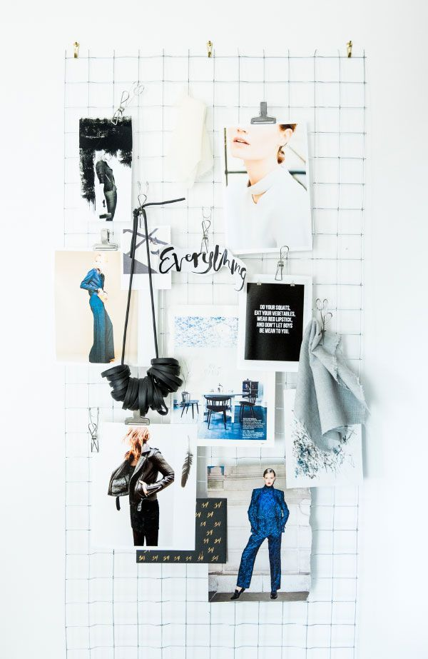 Sometimes an old fashioned mood board is all you need. (PS. If you read this…
