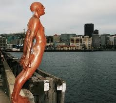 Solace in the Wind (Wgtn waterfront)