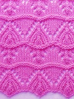 Ondulato Knit Stitch