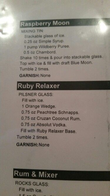 Ruby Relaxer @ Ruby Tuesday!! :)