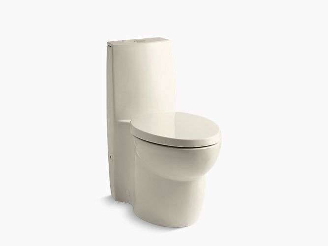 KOHLER|K-3564|Saile One-Piece Compact Elongated Dual-Flush Toilet | KOHLER