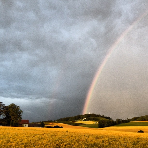 Rainbow over Yverdon-les-Bains: Yverdon Les Bain