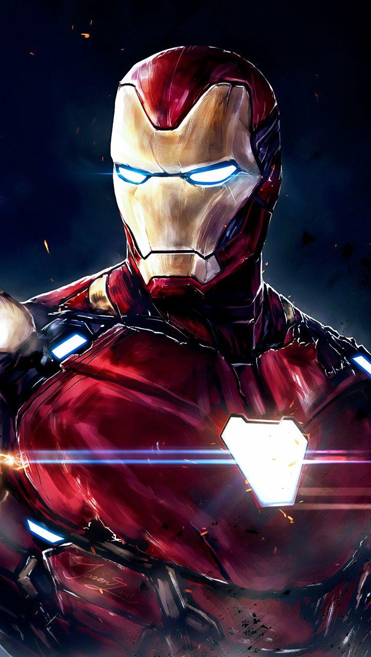 Iron Man, Tony Stark   – Marvel
