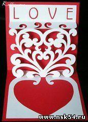 Валентинки в стиле pop-up - 2 Февраля 2009 - Развлекательный блог Новосибирска - Развлекательный блог Новосибирска