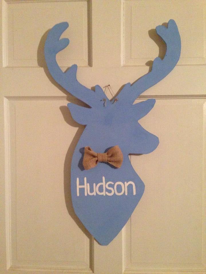 Deer Head Door Hanger
