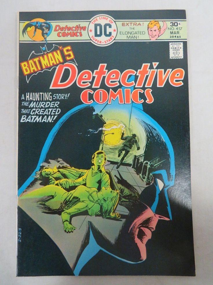 Detective Comics #457 (1976) DC Bronze Age Batman Nice VF+ to NM 8.5-9.0 CH091