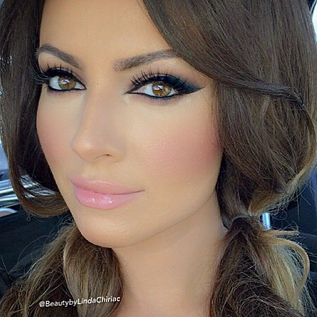 A lil blush overload never hurt nobody   here I did an Arabic eye look with liner e... | Use Instagram online! Websta is the Best Instagram Web Viewer!