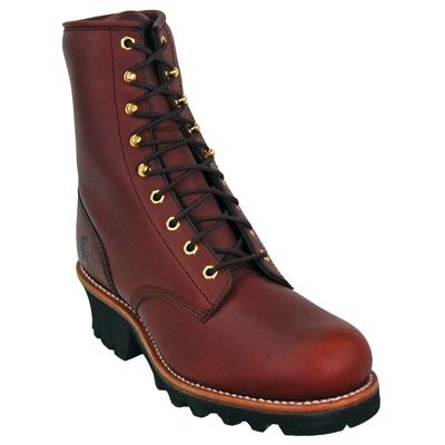 Chippewa Boots Men's 73030 Steel Toe EH Insulated Leather Logger Boots