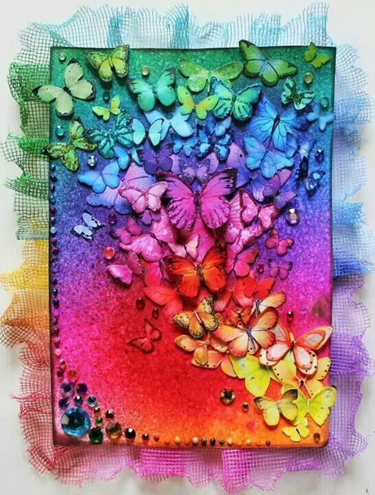 Butterfly explosion