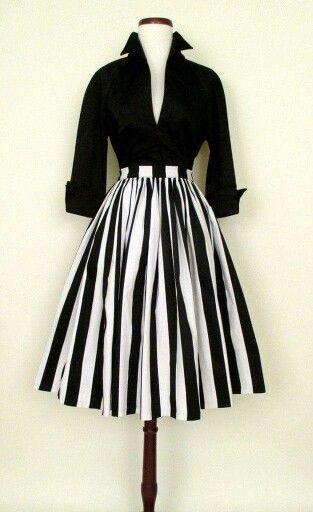 Black and White Audrey Hepburn Look