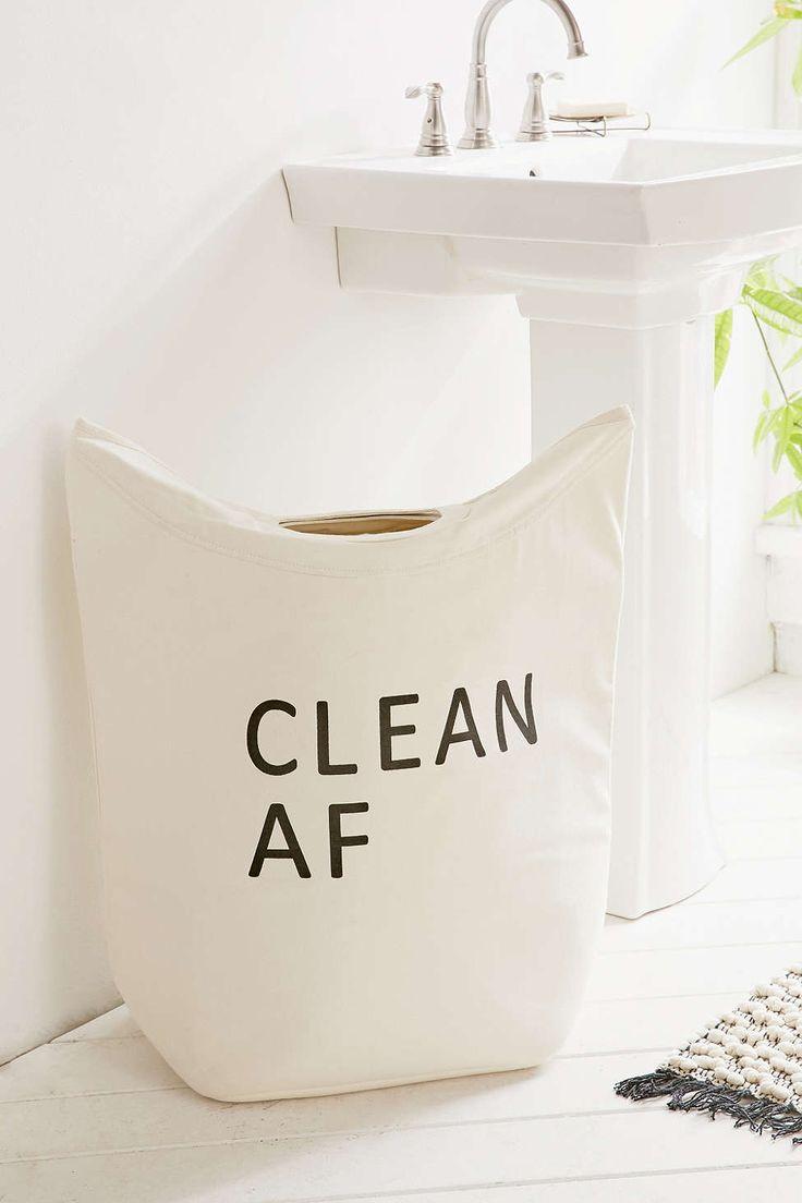 Clean/Dirty AF Hamper