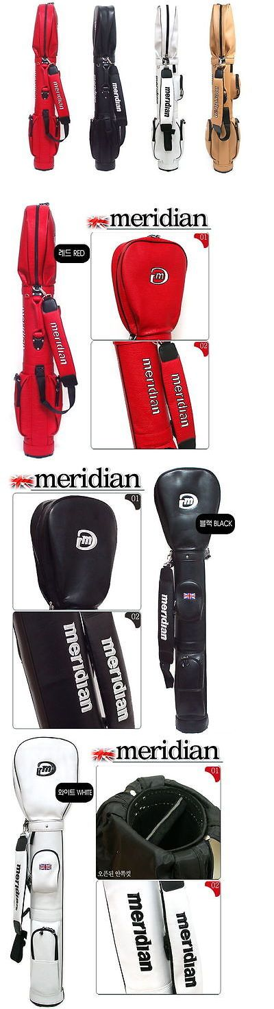 Other Golf Equipment 181155: Meridian Golf Half Sunday Carry Bag Travel Airplane Light Weight Club Case Ene -> BUY IT NOW ONLY: $131.01 on eBay!