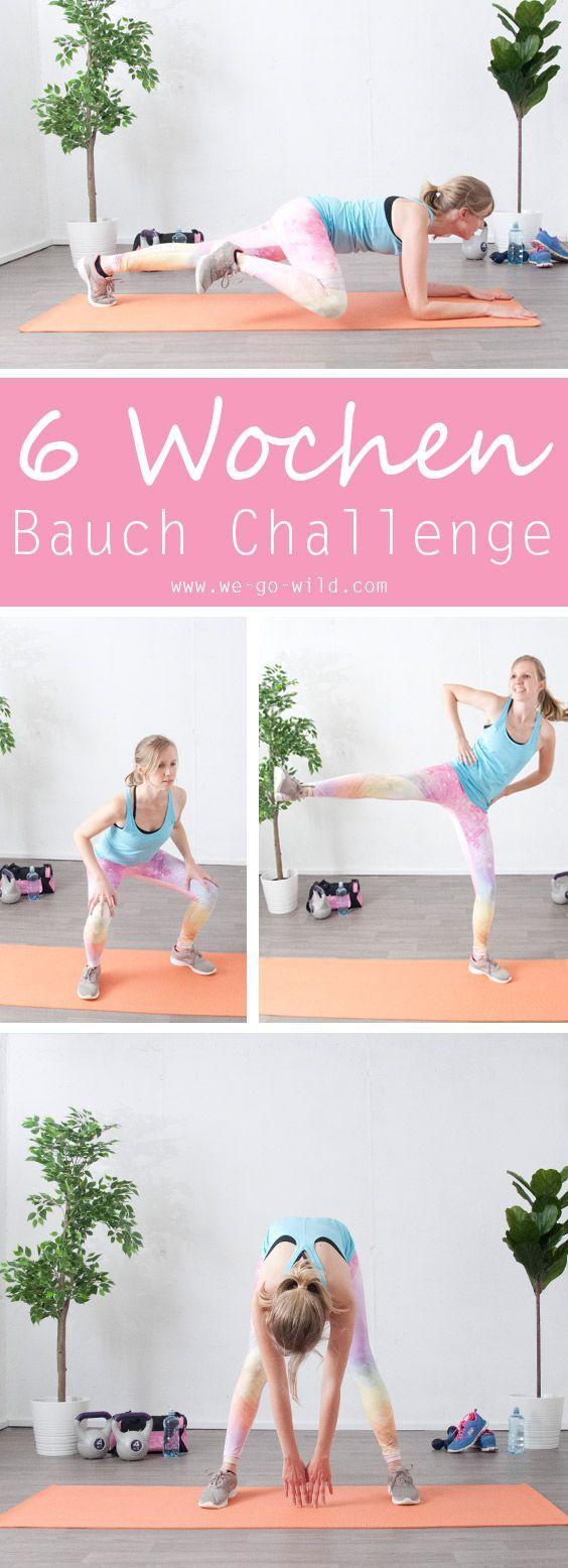 Bauch weg Training: Zum flachen Bauch ohne Fitnessstudio und Diät