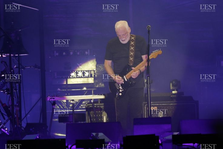 David Gilmour Arc en Senans