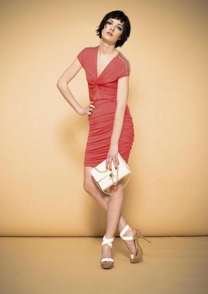 artigli-abbigliamento-primavera-estate-2013-abito-corallo