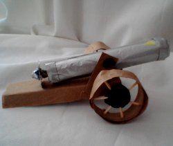 Mini Civil War Cannon for Kids to Make