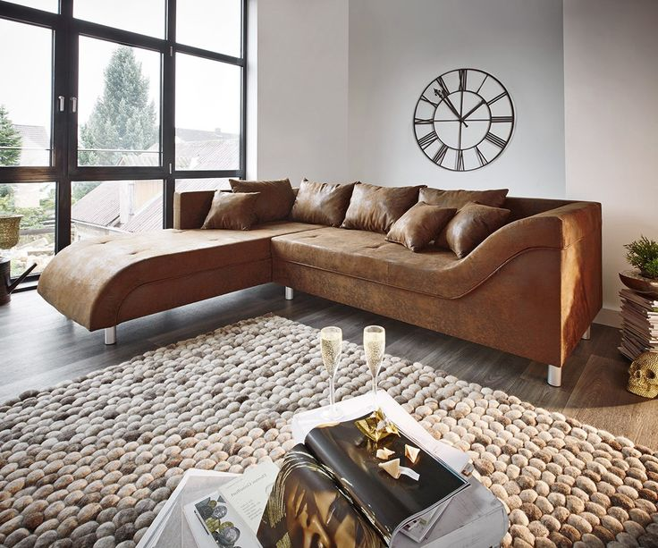 97 best h \/home\/sofa images on Pinterest Canapes, Couches and Sofas - wohnzimmercouch braun