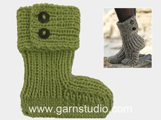 In this video we show how to knit one of our popular knitted slippers, you will need to read the pattern to be able to follow. Se knitted slipper or click...