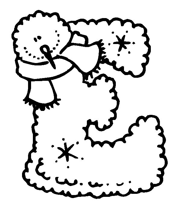 Best Winter Coloring Pages Images On   Free Printable